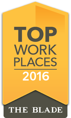 2016 Top Work Place - The Toledo Blade