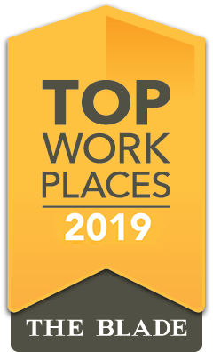 2019 Top Work Place - The Toledo Blade