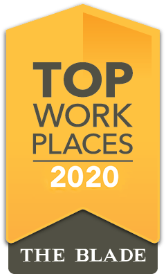 2020 Top Work Place - The Toledo Blade
