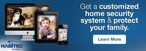 Get a customized home security system & protect your family